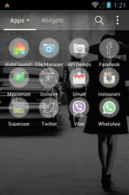 kpop theme launcher 2ne1 missing you android theme for dodol launcher