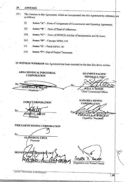 Letter Of Agreement Sle Philippines Graphic