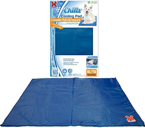 comfort care heating and cooling hugs pet products chillz pad comfort cooling gel pet pad