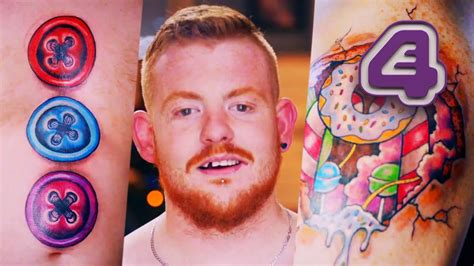 tattoo fixers free becoming a real life gingerbread man tattoo fixers youtube