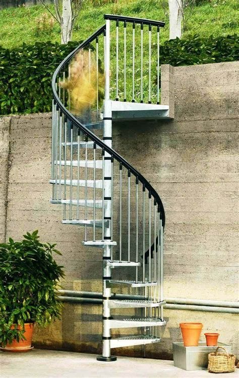 outdoor spiral staircase kits ideas   home