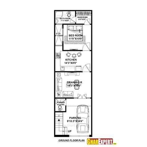 house design 15 30 feet stylish house plan for 15 feet 50 feet plot plot size 83