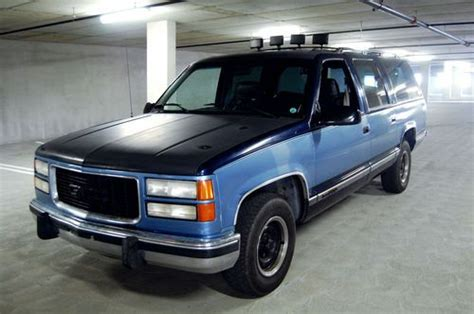 how does cars work 1994 gmc suburban 1500 spare parts catalogs purchase used 1994 gmc c1500 suburban sle sport utility truck 4 door 5 7l clean low miles suv in