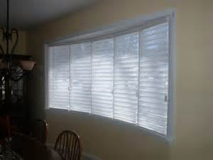 Window Treatments For A Bow Window big bow window philadelphia by blinds amp designs