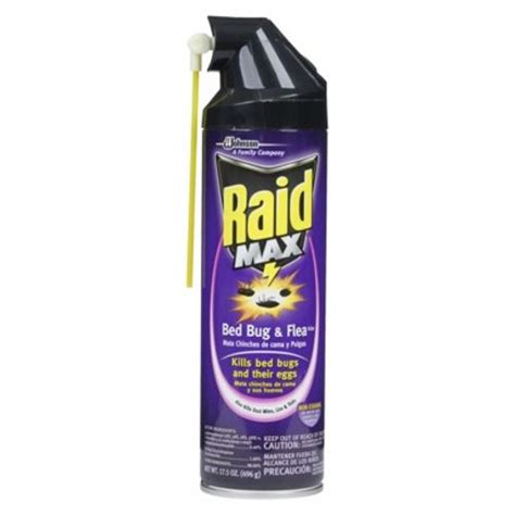 raid max bed bug raid max bed bug flea 17 5 oz