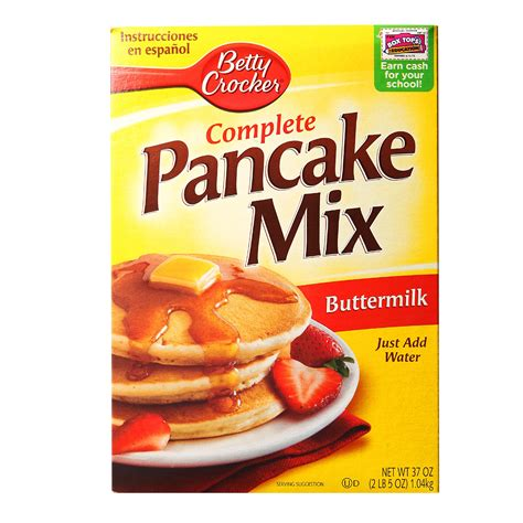 pancake flour betty crocker buttermilk pancake mix 430g from redmart