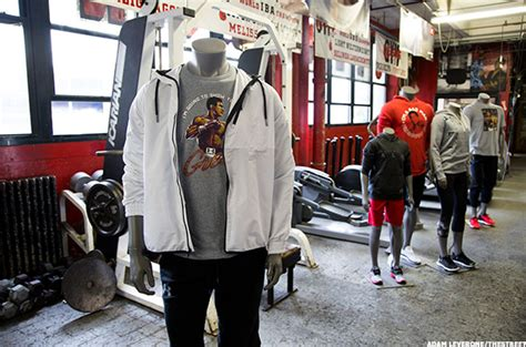 Hoodie Muhammad Ali By Joe Store armour turns to 73 year sports icon to sponsor