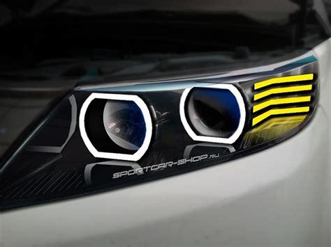 Kia Sorento Headlight тюнинг фар Kia Sorento фары Laser Lights для Kia Sorento