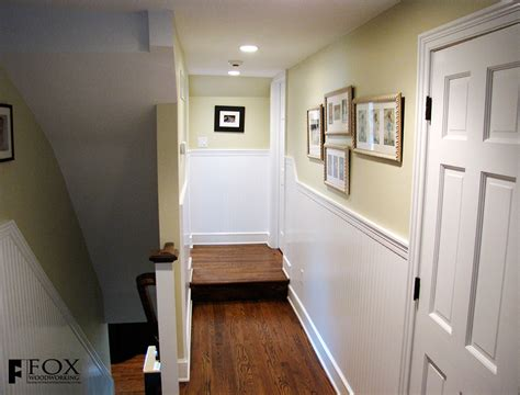 beadboard wainscot in a main line home fox woodworking