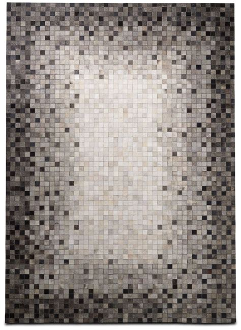 Bo Concept Rugs Handmade Cowhide Rug Boconcept The Of Gray