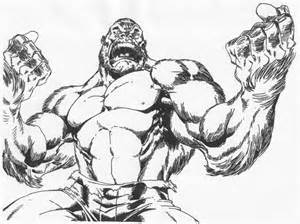 Gorilla Hulk Roaring By Stonegate On DeviantArt sketch template