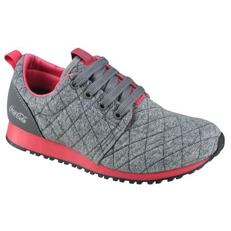 Tênis Coca Cola Sense CC1016   Cinza/Coral   Calçados Online Sandálias, Sapatos e Botas