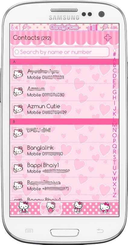 hello kitty car ride go launcher theme android themes download theme android cute hello kitty go sms and go