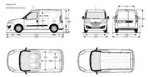 Fiat Doblo Dimensions Fiat Doblo Cargo Misure Cerca Con Car Wrapping