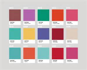 Pantone color of the year callendar
