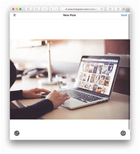 layout from instagram mac how to post photos on instagram from your mac