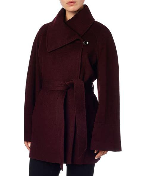 Drawstring Waist Bell Sleeve Coat 17 beste afbeeldingen aw15 coats edit werkkleding