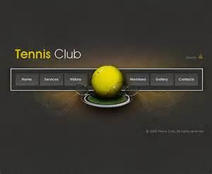 tennis clubeasy flash templates at www flashtemplatestore com