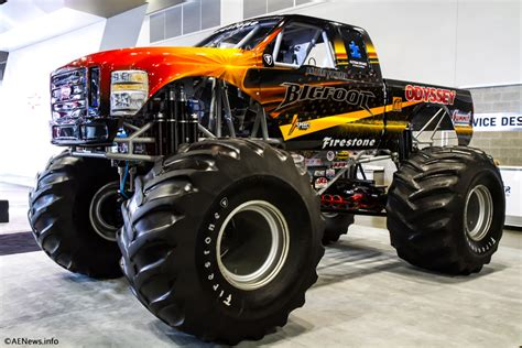 monsters trucks the bigfoot electric truck