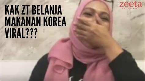 vlog kak zt belanja makanan korea viral youtube
