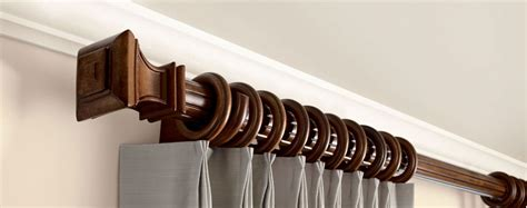 wooden rods for curtains wooden curtain rods williams drapery kirsch hardware