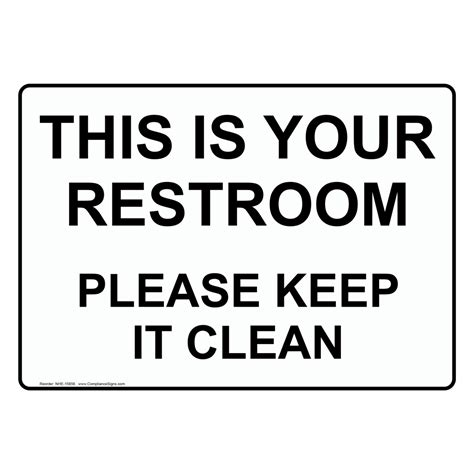 Bathroom Etiquette Huffington Post Restroom Cleanliness Signs Just B Cause
