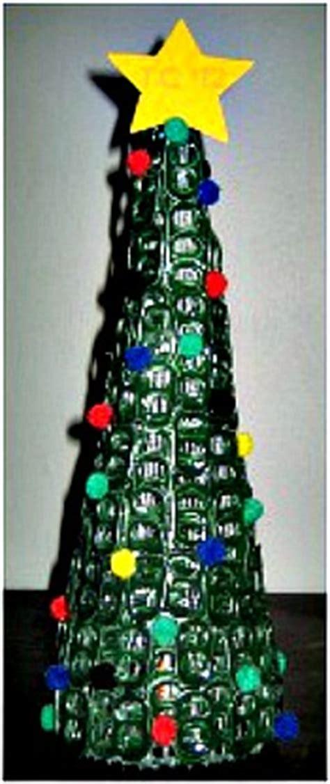 pop tab christmas tree christmas diy craft