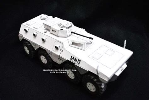 district 9 papercraft mnu armored personnel carrier