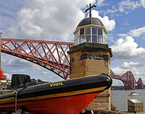 queensferry ferry boat the forth bridge north queensferry july 2014