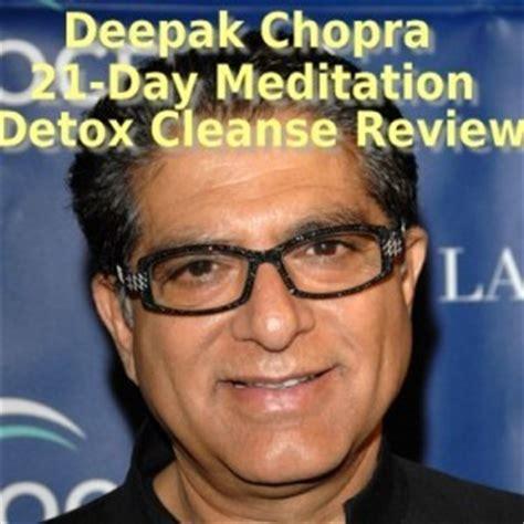 21 Day Brain Detox Review by Dr Oz Deepak Chopra 21 Day Meditation Cleanse Review