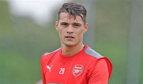 Granit Xhaka Arsenal News Xhaka Reveals Thoughts On Chelsea City