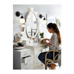 Ikea Vanity Adelaide Hemnes Dressing Table With Mirror White Hemnes