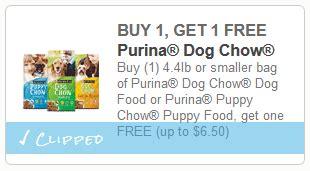 printable blue dog food coupons 2015 new buy 1 get 1 free bag of purina dog chow dog food
