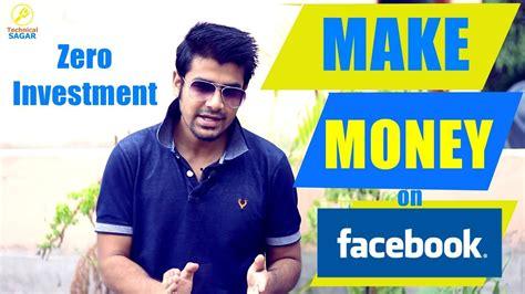 Make Money Online Facebook - make money on facebook instagram zero investment