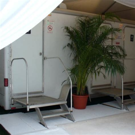 outdoor bathroom rental portable wedding restroom trailer rentals