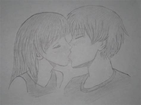 anime couples kissing sketches anime couple kissing by emmiruby0223 on deviantart