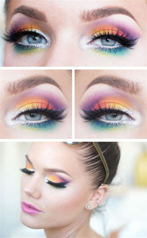Pac Color Festival Eye Shadow 10 festival eye makeup ideas more