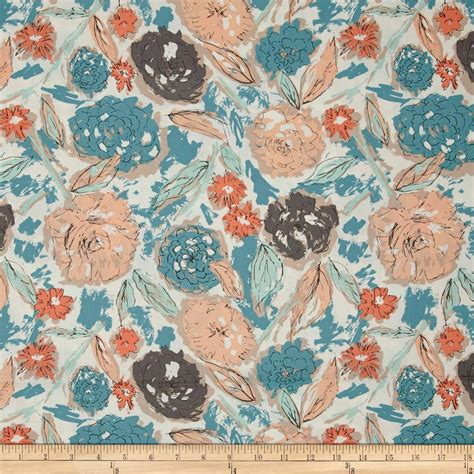 Fabric Paper - gallery tapestry paper flowers parchment discount