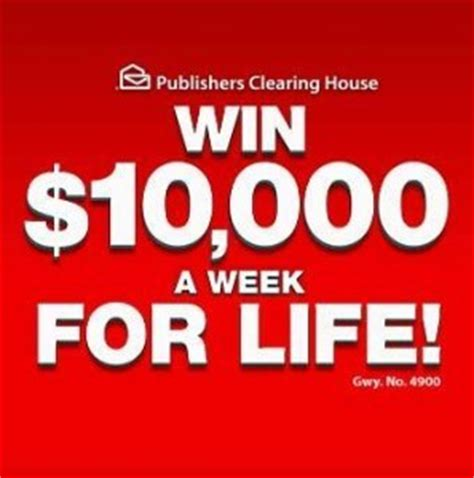 Publishing Clearing House Games - pch 10000 a week for life sweepstakes autos post