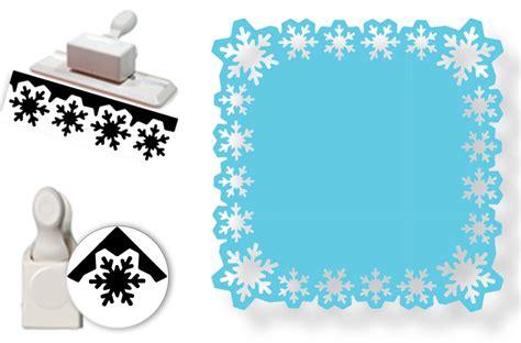 snowflake template martha stewart martha stewart crafts punch around the page craft