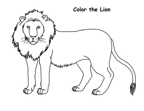 Free Printable Lion Coloring Pages For Kids Coloring Pages Of Lions