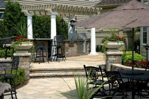 Patio Pavers Olathe Ks Four Concrete Products For Designing Outdoor Kitchens To
