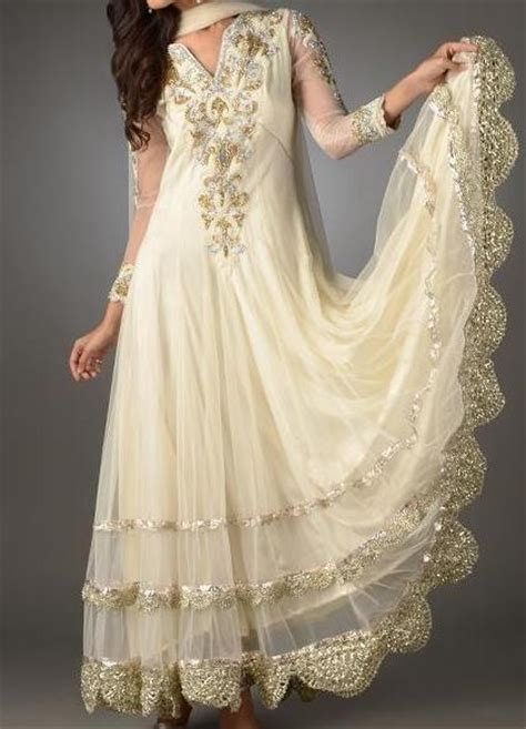 White Frock For Wedding by White Boutique Fancy Frock Designs For Wedding 2013