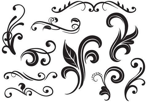 free vector graphics clipart flourishes vectors free vector stock