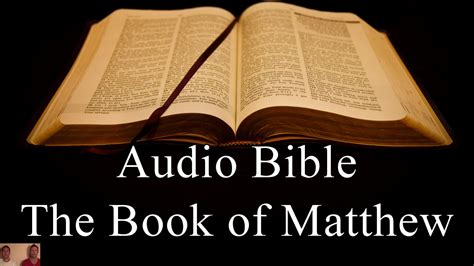 the gospel of matthew through new volume one jesus as israel books the book of matthew niv audio holy bible high quality
