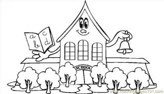 school coloring page coloring pages school chuckbutt