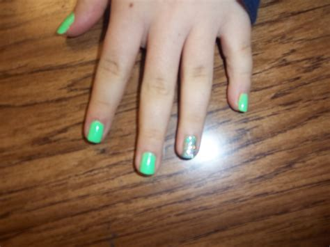 why one fingernail painted different nails the garner gazette