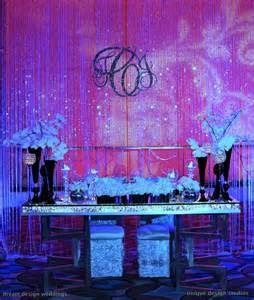 wedding backdrop initials bling sweetheart table with curtain backdrop and bling monogram wedding planning and