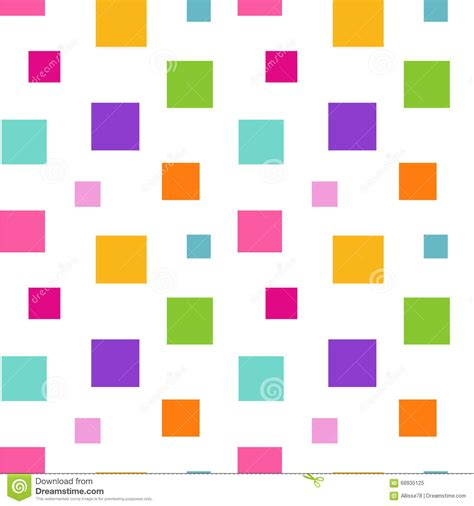 square pattern background vector colorful abstract square pattern background vector