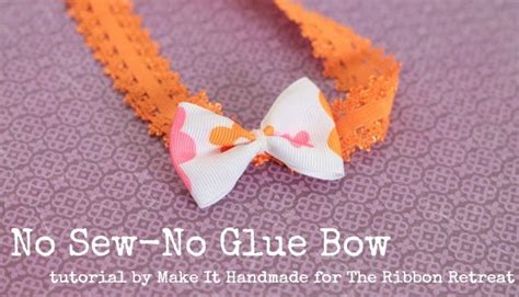 hair bow instructions project nylon headbands baby soft stretchy